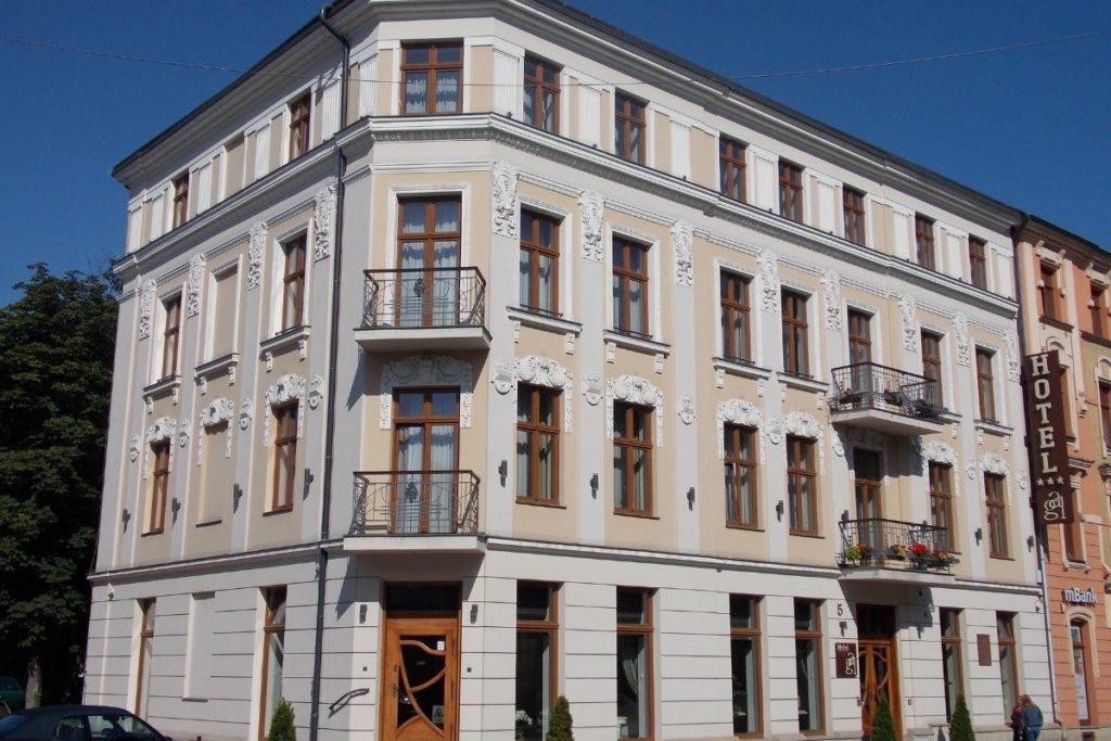 budynek hotelu gal w Tarnowie