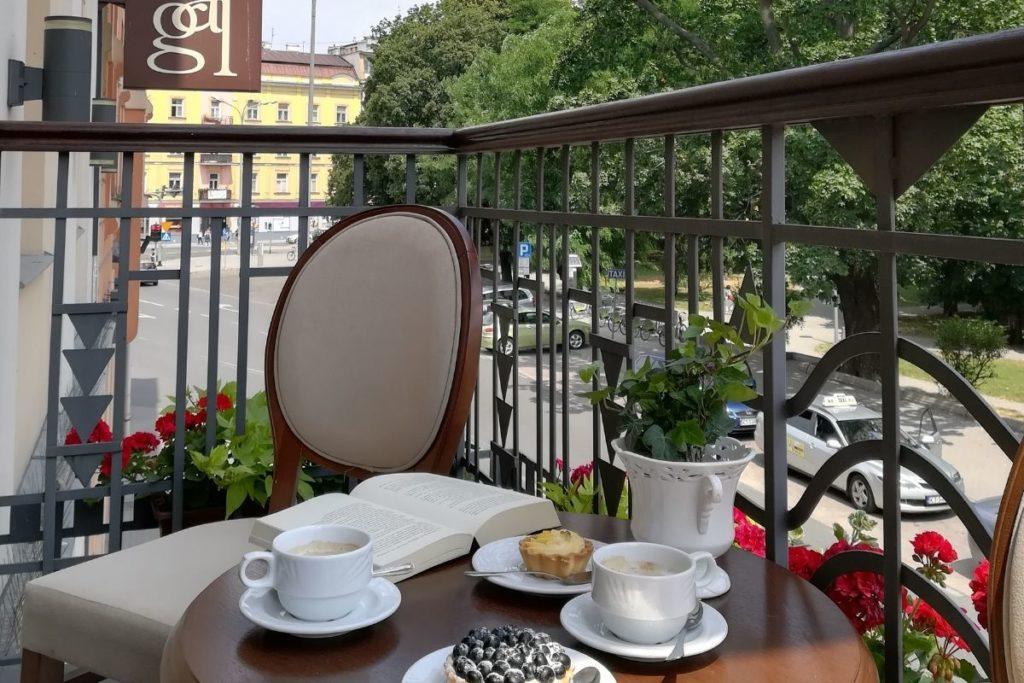 Widok z hotelu Gal w Tarnowie