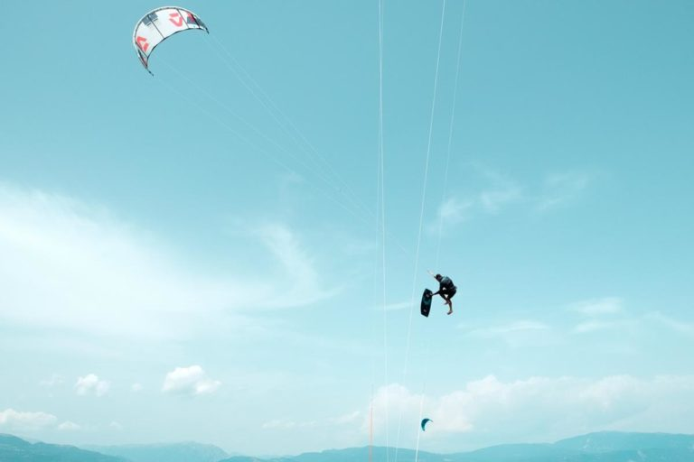 Gdzie po raz ostatni uprawialiście kitesurfing?